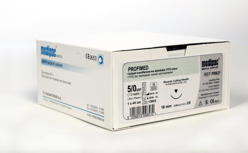 Profimed nevstřebatelný chirurgický šicí materiál PTFE
